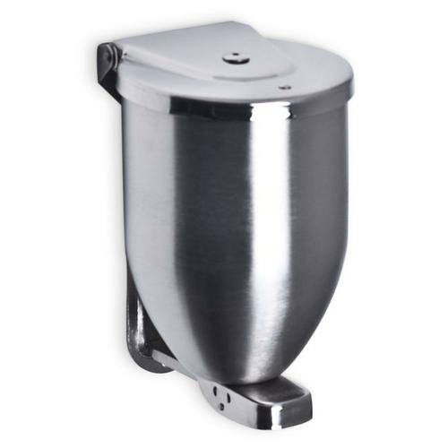 AJW U115 32 oz Stainless Steel Powder Soap Dispenser - Surface Mounted