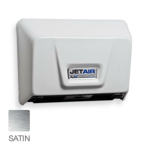 AJW U1511EA-SF Automatic ADA Compliant Hand Dryer, Universal Voltage, Satin s/s Finish - Surface Mounted
