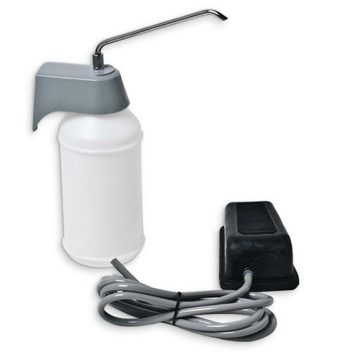 AJW U106 32 oz Foot Operated Liquid Soap Dispenser - Vanity Mounted