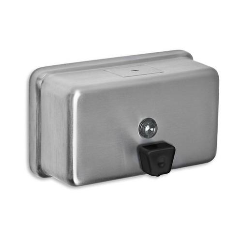 AJW U124 40 oz Horizontal Liquid Soap Dispenser - Surface Mounted