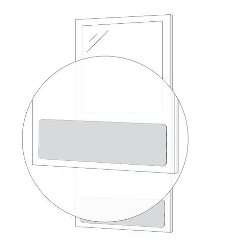 AJW UM50-3008 Kick Plate