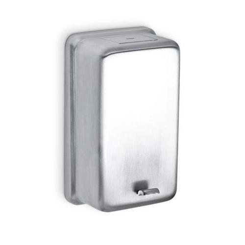 AJW U112 32 oz Stainless Steel Powder Soap Dispenser - Surface Mounted