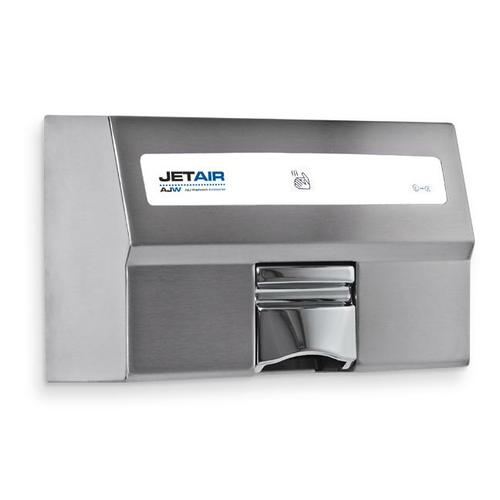 AJW U1521EA-120V Automatic 120 Volt Hand Dryer, Satin Finish - Surface Mounted