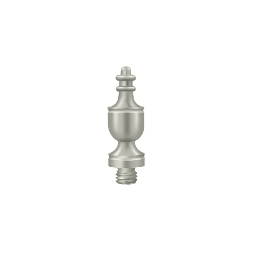 Deltana DSUT15 Urn Tip, Brushed Nickel