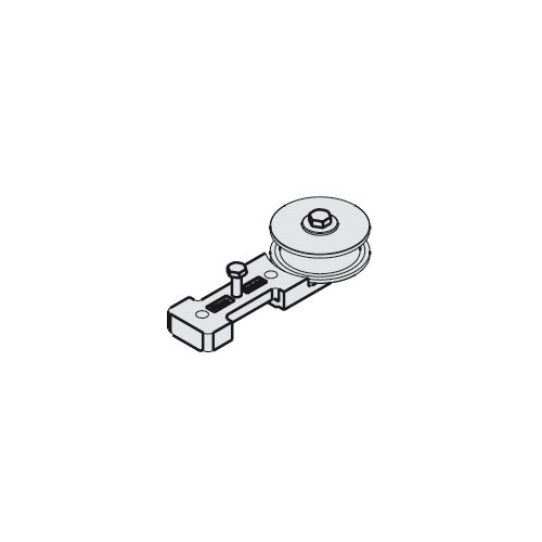 Hafele 947.00.049 Guide Pulley Wheel with Mounting Screws