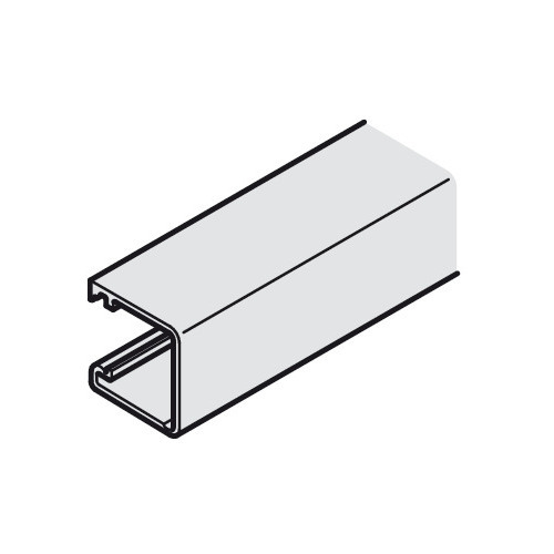 Hafele 400.88.902 Vertical Profile for clip fixing to the side