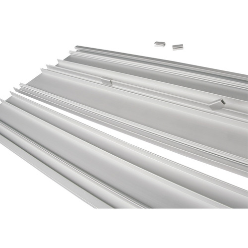 Hafele 774.43.926 Aluminum Shelf for 21 C Wall and Sta-Pole System