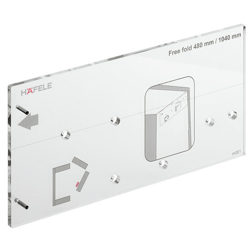 Hafele 372.37.050 Drilling Jig for Free Fold
