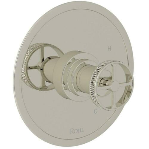 Rohl A2210IWPN Lombardia Avanti Single Handle Bathtub & Shower Faucet, Polished Nickel