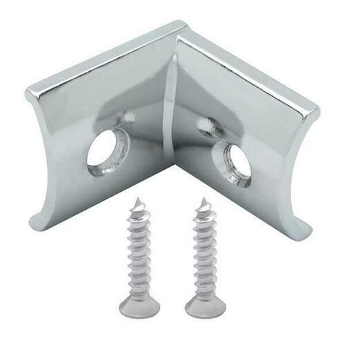 Jacknob 601550 Alcove Clip Curved Molding/W Screws 6Lp