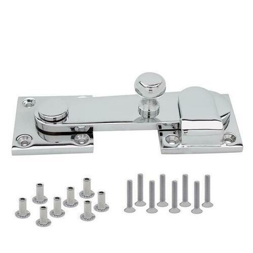 Jacknob 605701 Latch & Keeper-Heavy Duty (5701) & Screw Pack-6Lp