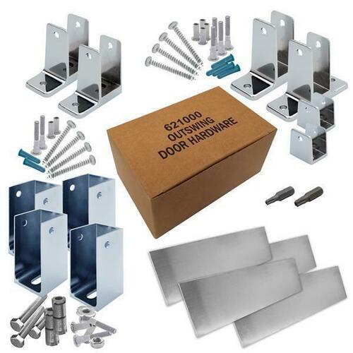 Jacknob 6202200 Hardware Kit-Corner Stall-Out- 1-1/4