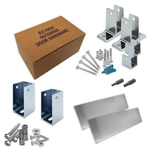 Jacknob 6202210 Hardware Kit-Addtnl Stall-Out- 1-1/4