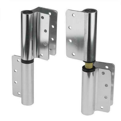 Jacknob 119304 Hinge-Surface Mounted (Rh-In/Lh-Out) (1/2-Flat 8974) Aluminum-Bd