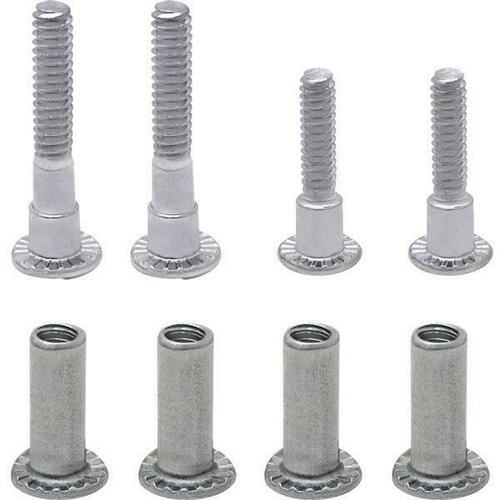 Jacknob 160 Screw Pack - (4) Piece Alcove Clips