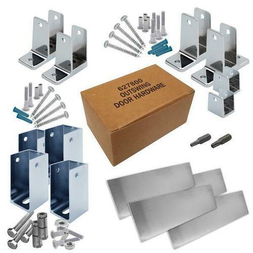 Jacknob 6202100 Hardware Kit-Corner Stall-Out- 1-1/4