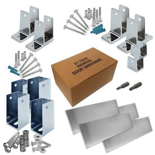 Jacknob 6201100 Hardware Kit-Corner Stall-In- 1-1/4
