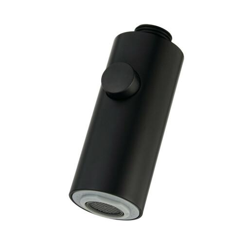 Kingston Brass KDH8700 Pull-Down Kitchen Faucet Sprayer, Matte Black