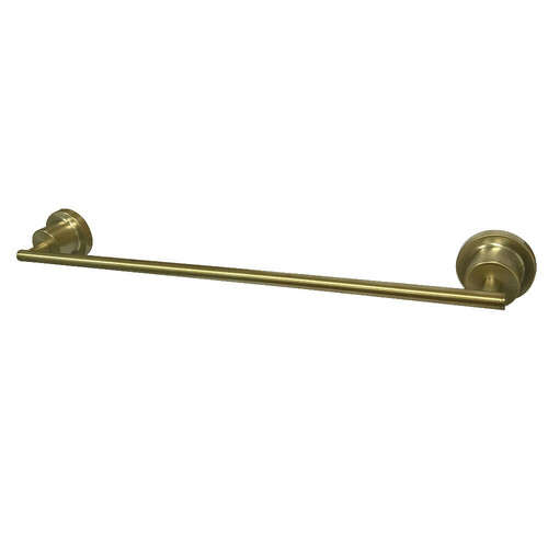 Kingston Brass BAH8212SB Concord 18-Inch Single Towel Bar, Brushed Brass