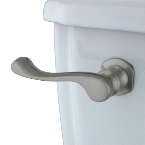 Kingston Brass KTFL8 French Toilet Tank Lever, Brushed Nickel
