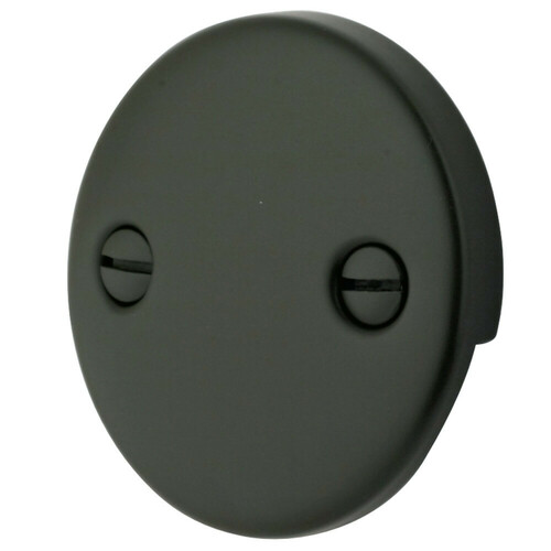 Kingston Brass DTT105 Bath Tub Overflow Plate, Oil Rubbed Bronze