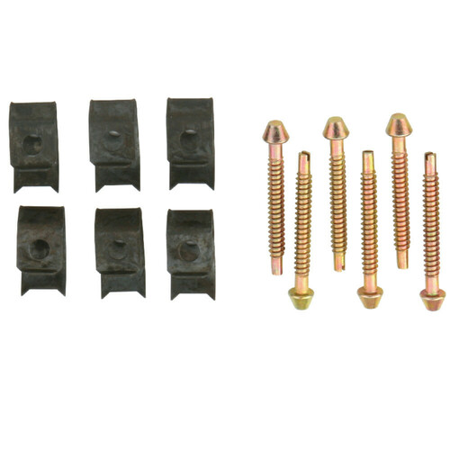 Kingston Brass KSHDWR6 Surface Mount Clip 6 Clips Pack