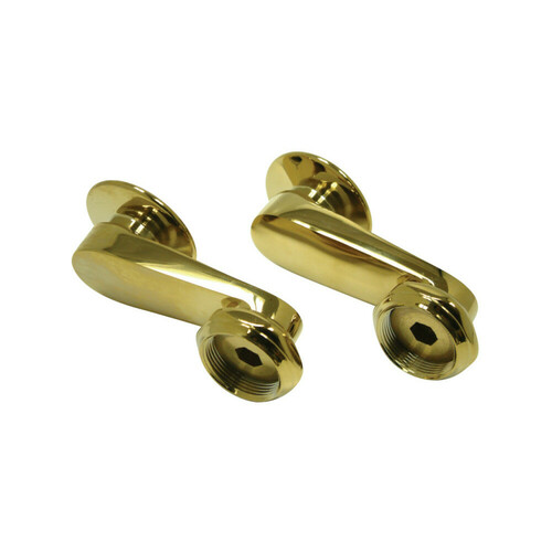 Kingston Brass CC3SE2 Vintage Swivel Elbow for Wall Mount Tub Filler, Polished Brass