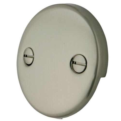 Kingston Brass DTT108 Bath Tub Overflow Plate, Brushed Nickel