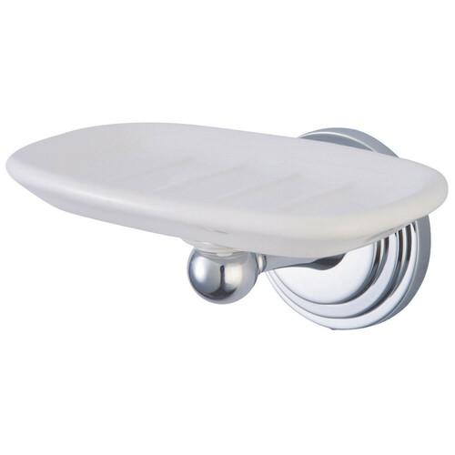Kingston Brass BA2715C Milano Wall-Mount Soap Dish, Polished Chrome
