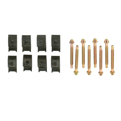 Kingston Brass KSHDWR8 Surface Mount Clip 8 Clips Pack