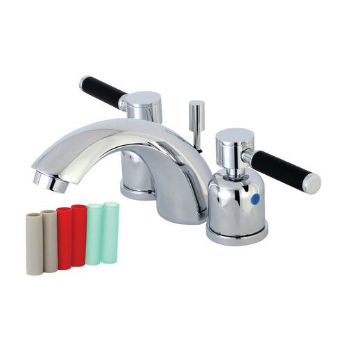 Kingston Brass KB8951DKL Mini-Widespread Bathroom Faucet, Polished Chrome