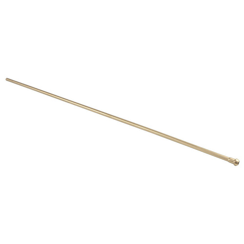 Kingston Brass CB38307 Complement 30 in. Bullnose Bathroom Supply Line, Brushed Brass