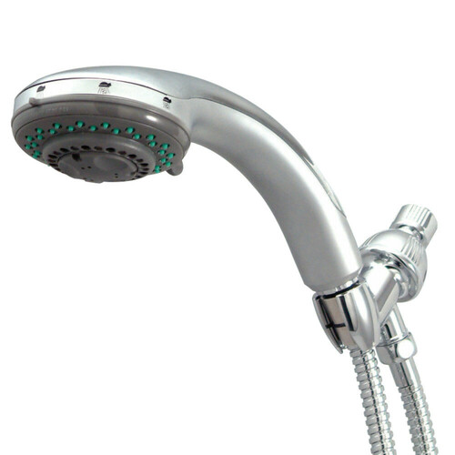 Kingston Brass KX2528B Vilbosch 5-Function Hand Shower with Stainless Steel Hose, Brushed Nickel