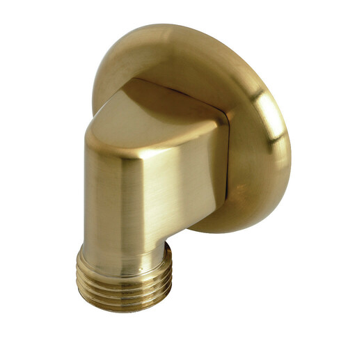 Kingston Brass K173A7 Showerscape Wall Mount Supply Elbow, Brushed Brass
