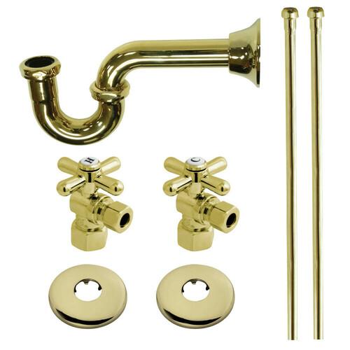 Kingston Brass KPK102P Plumbing Supply Kits Combo, 1/2