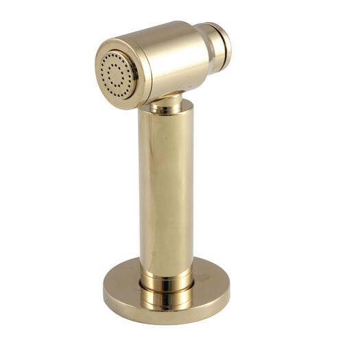 Kingston Brass CCRP61K2 Kitchen Faucet Side Sprayer, Polished Brass