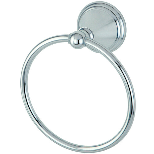 Kingston Brass BA2974C Governor Towel Ring, Polished Chrome