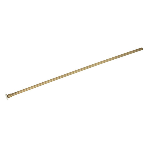 Kingston Brass CF38203 Complement 20-Inch X 3/8-Inch Diameter Flat Closet Supply, Antique Brass