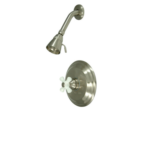 Kingston Brass KB3638PXSO Vintage Shower Only, Brushed Nickel
