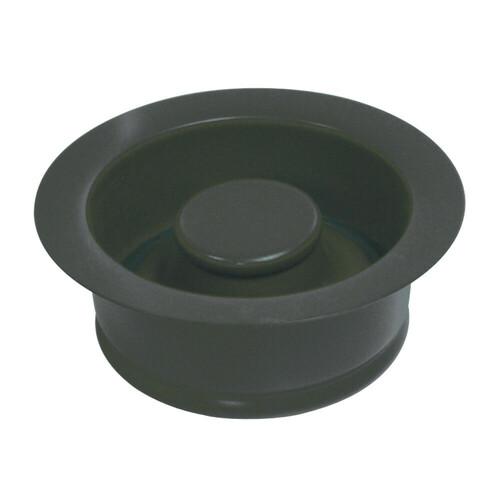 Kingston Brass BS3000 Water Onyx Garbage Disposal Flange, Black Stainless Steel