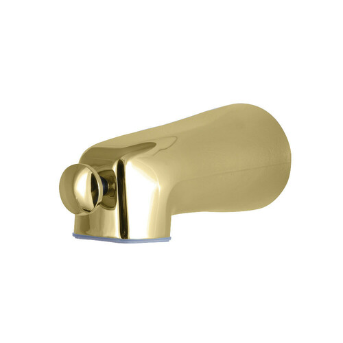 Kingston Brass K1263A2 Universal Fits Tub Spout with Front Diverter, Polished Brass
