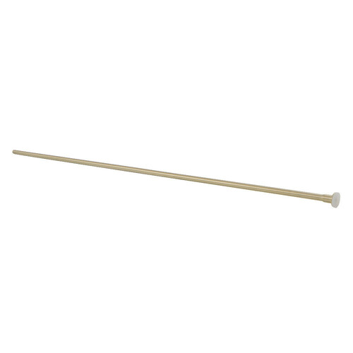 Kingston Brass CF38307 Complement 30-Inch X 3/8-Inch Diameter Flat Closet Supply, Brushed Brass