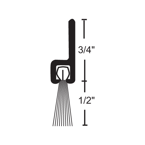 NGP B606A36 National Guard Products Weatherstrip