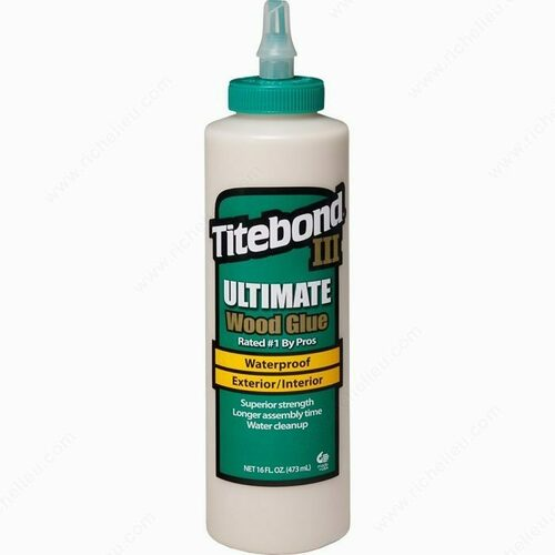 Richelieu 15001414 Titebond III Ultimate Wood Glue
