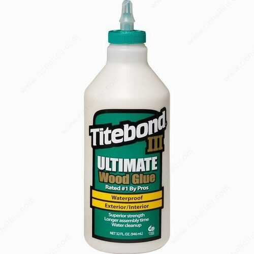 Richelieu 15001415 Titebond III Ultimate Wood Glue