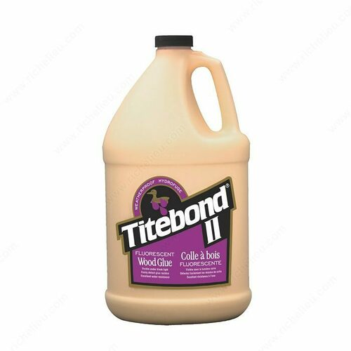 Richelieu 15002316 Titebond II Fluorescent Wood Glue