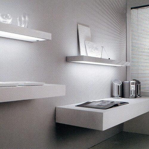 Richelieu 41980510 Profilo Fluorescent Shelf Light