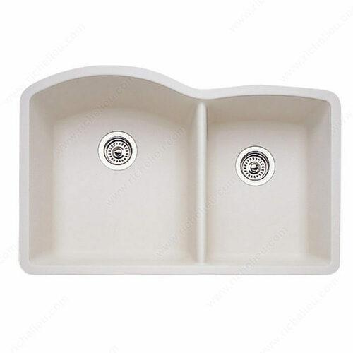 Richelieu 4816U41 Blanco Sink - Diamond U 1-3/4