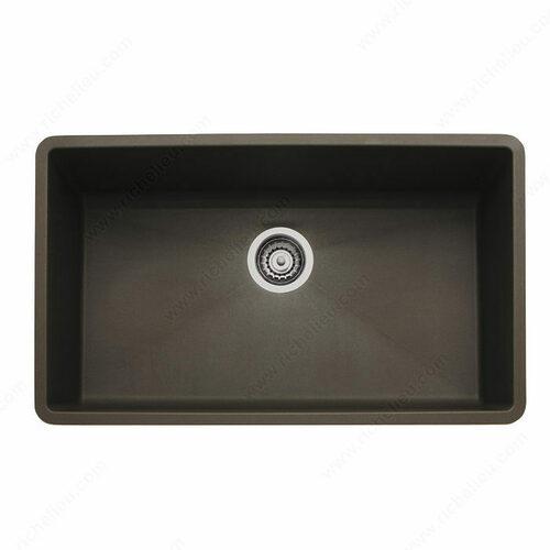 Richelieu 4815U250 Blanco Sink - Precis U 1