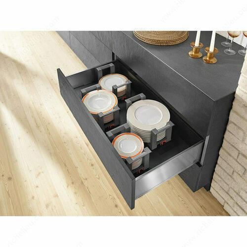 Richelieu WEBKIT1212778 Modular AMBIA-LINE Kits - Height F for Plates - Standard Drawer